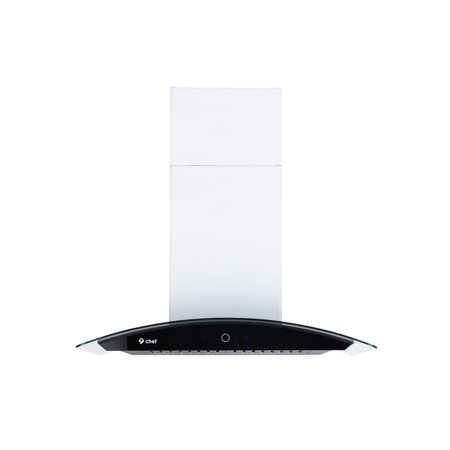 "Range Hood Vent Pipe (Chef's WM-639 36"" Wall Mount Range Hood 