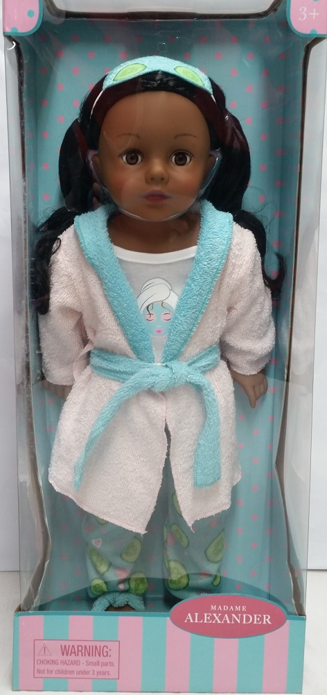 "Madame Alexander Spa Day Collection 18"" Doll, African American by Madame Alexander"
