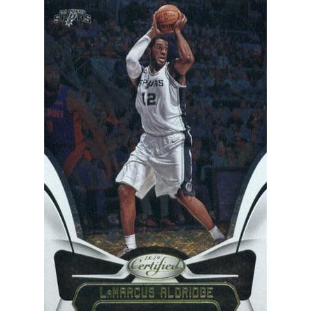 2018-19 Panini Certified #116 LaMarcus Aldridge San Antonio Spurs Basketball Card](Adult Arcade San Antonio)