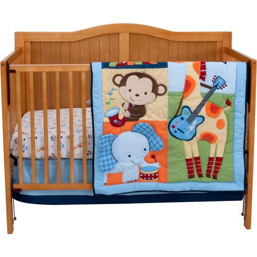 Riegel Tune Time 3-Piece Crib Bedding Set