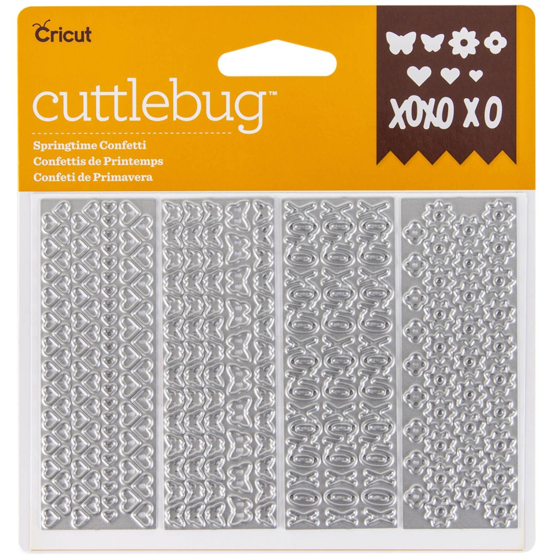 Cricut Cuttlebug Confetti Dies