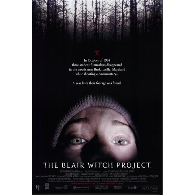 Pop Culture Graphics MOVED9942 The Blair Witch Project Movie Poster, 11 x 17 - image 1 de 1