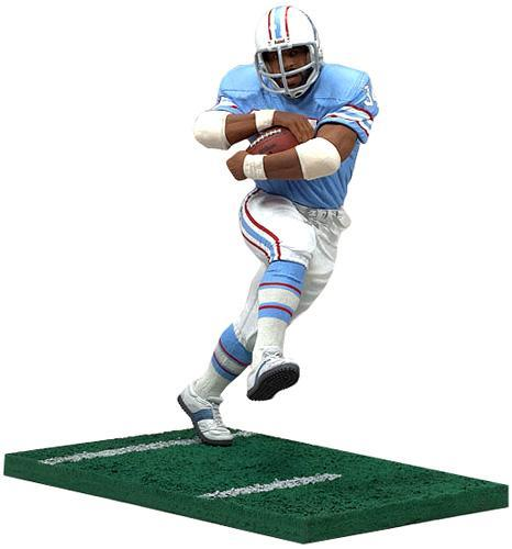Mcfarlane NFL Sports Picks Legends Series 3 Earl Campbell Action Figure [Blue Jersey]