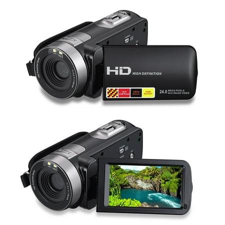 hdv 301str high definition digital video camcorder black. Black Bedroom Furniture Sets. Home Design Ideas