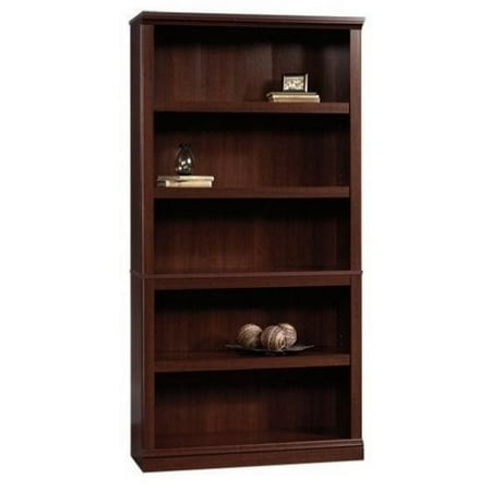 Pemberly Row 5 Shelf Bookcase in Select Cherry