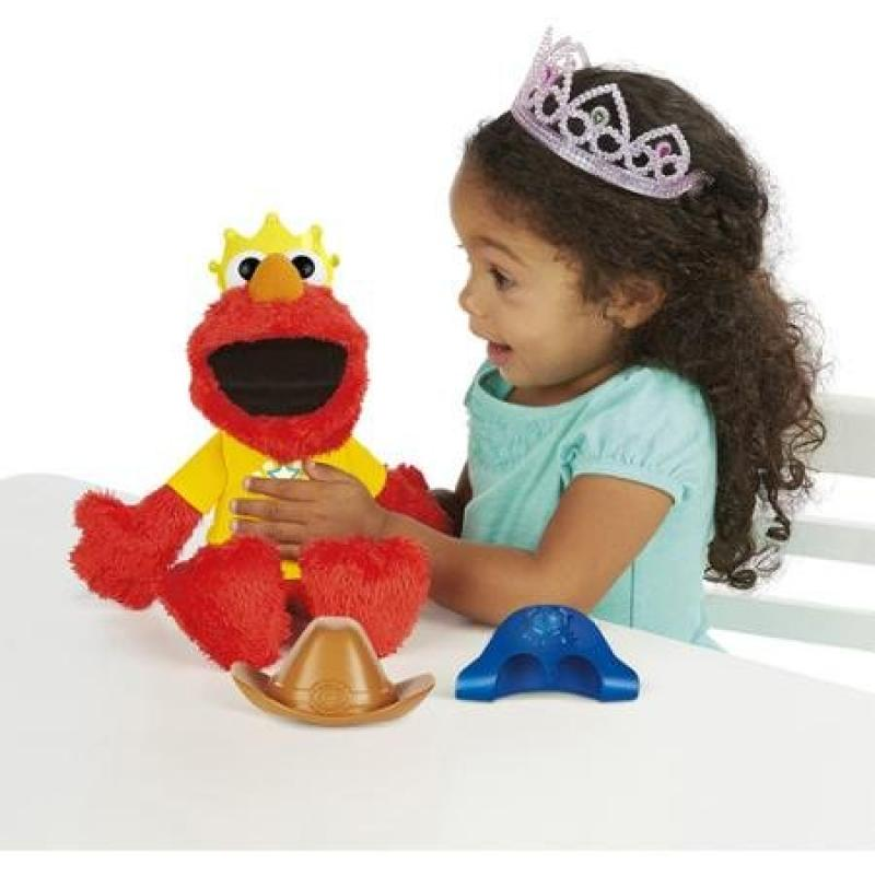 Playskool Sesame Street Let's IMagine Elmo Toy with 4 interactive play modes by