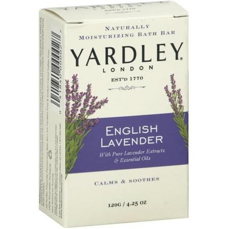 Essential Moisturizing (Yardley London Moisturizing Bar English Lavender with Essential Oils 4.25 oz )