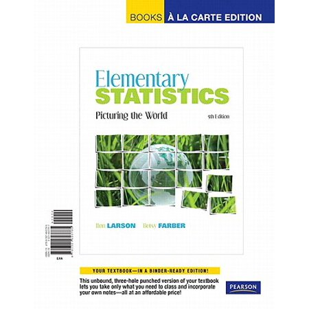 Elementary Statistics : Picturing the World, Books a la