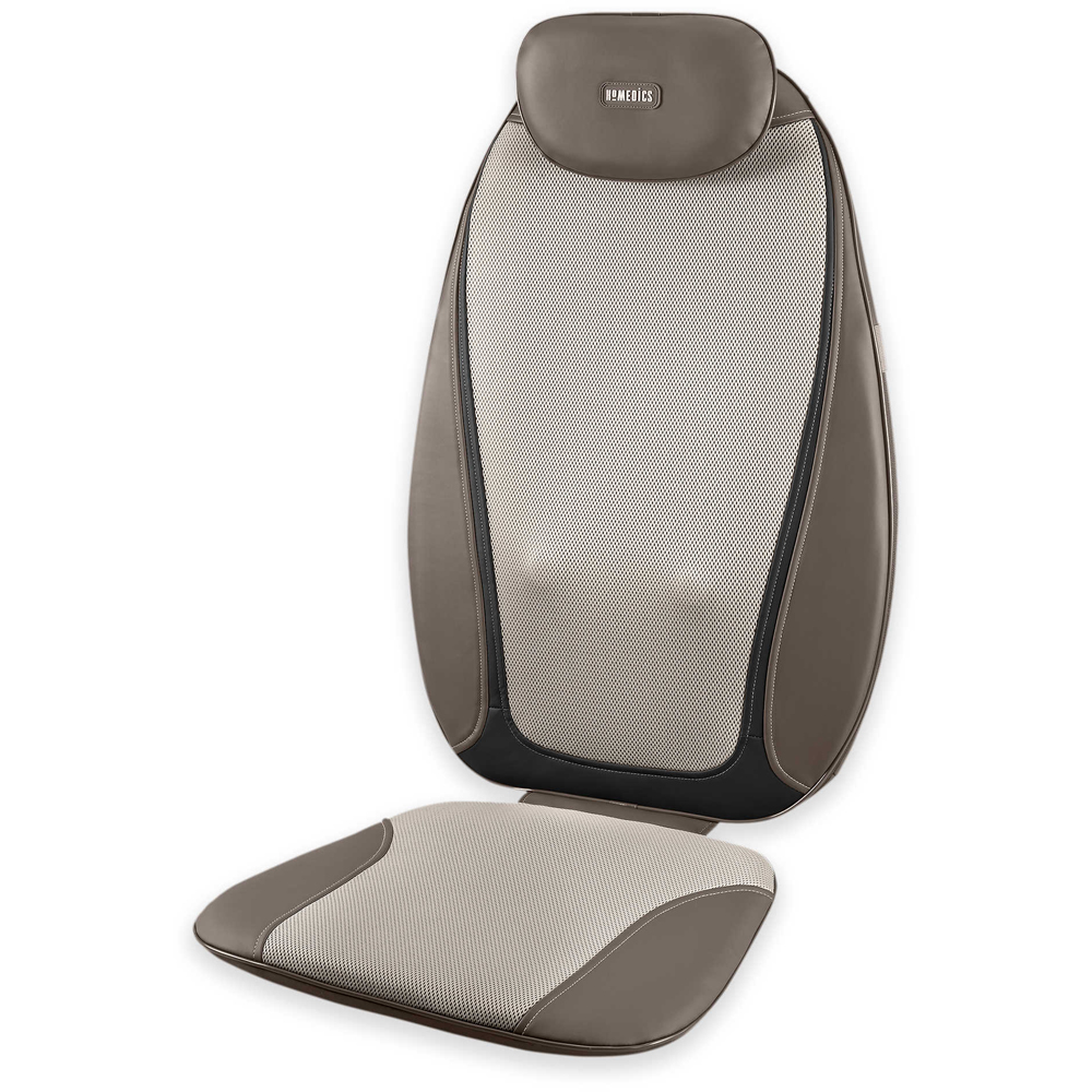 Homedics Shiatsu ProPlus Kneading Massaging Cushion with Heat-3 massage zones