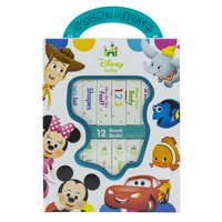 Deals on 12-Book Disney Baby My First Library Board Book Block Set