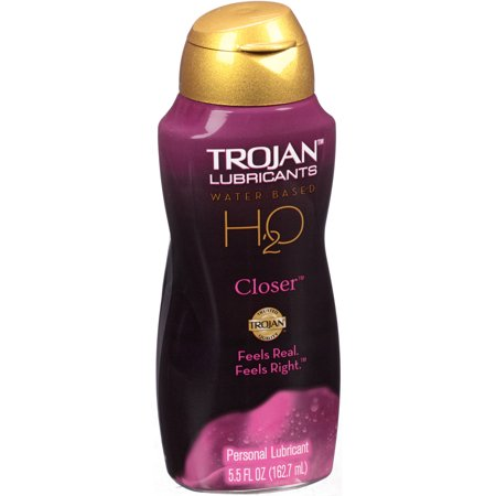 Trojan H20 Closer Water-Based Personal Lubricant, 5.5 fl oz