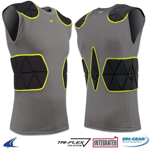 Champro Tri-Flex Padded Compression Football Shirt