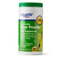 Equate Sugar Free Fiber Supplement Powder, 125 Ct, 16.7 Oz
