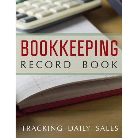 bookkeeping record book tracking daily sales walmart com
