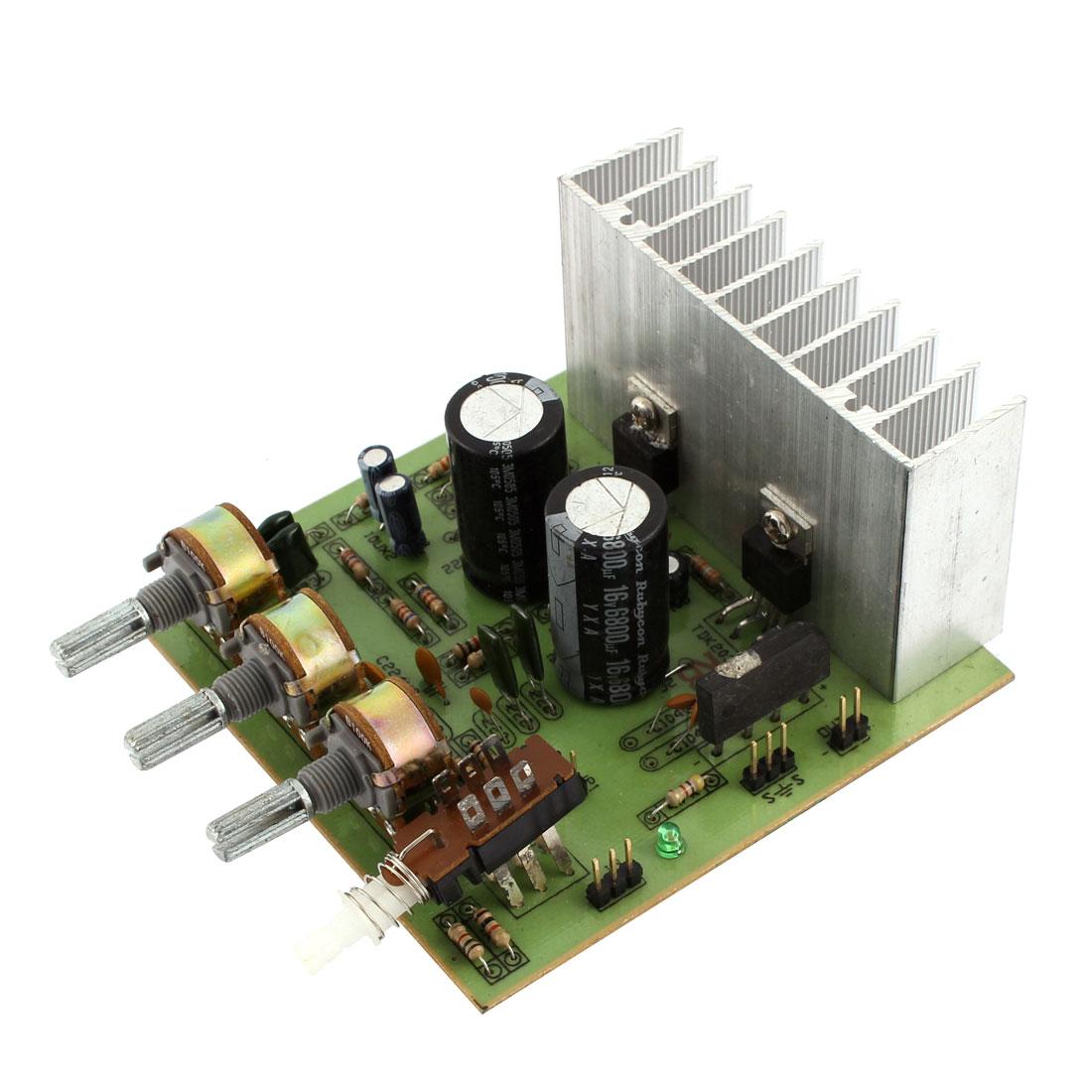 Unique Bargains Car Auto LFE Hi-Fi 2 Channel Audio Stereo Power Amplifier Board