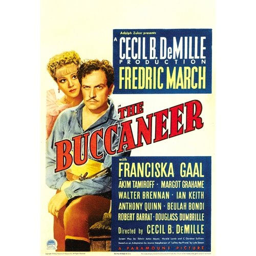 The Buccaneer (1938) (Full Frame)