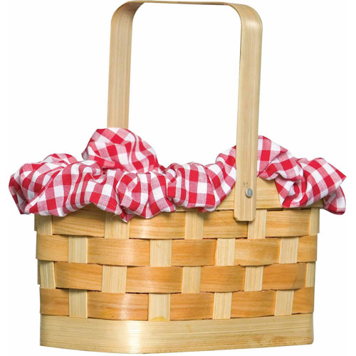 Gingham Basket Adult Halloween Accessory