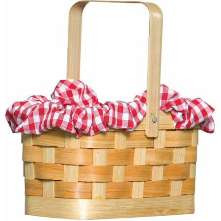 Gingham Basket Purse Adult Halloween Accessory - Halloween Sweets Bags