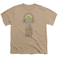 Dc - And Youre Not - Youth Short Sleeve Shirt - Small