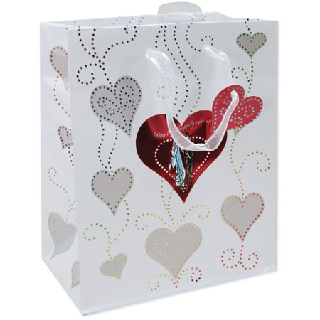 Large Foil Gift Bag, Bride And Groom (Gifts From Bride To Groom)