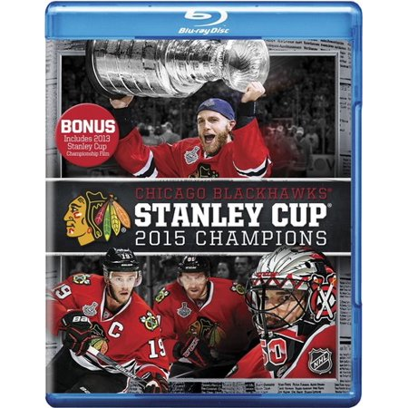 Chicago Blackhawks  2015 Stanley Cup Champions  Blu Ray