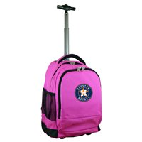 Houston Astros 19'' Premium Wheeled Backpack - Black - No Size