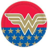 Wonder Woman 'Classic' Large Paper Plates (8ct)
