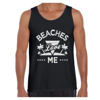3cb3aa9ea0da4 Product Image Awkward Styles Beaches Love Me Tank Top for Men Beach Tank Top  Funny Summer Gifts for