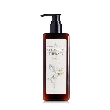 Pure Baby Wash - Botanical Therapy Pure Baby Shampoo Great for Cradle Cap, with Calendula and Witch Hazel - Fragrance Free, 6.8 fl oz.