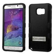 Mystcase™ Samsung Galaxy Note 5 Rubber IMPACT TUFF HYBRID KICK STAND Case + Screen Guard