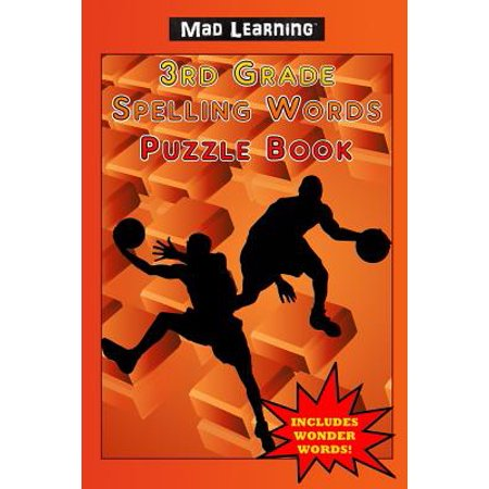 Mad Learning : 3rd Grade Spelling Words Puzzle Book](Grade 2 Halloween Spelling Words)