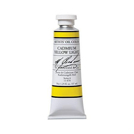 M.GRAHAM & CO. 11070 M GRAHAM CADMIUM YELLOW LIGHT 37ML OIL