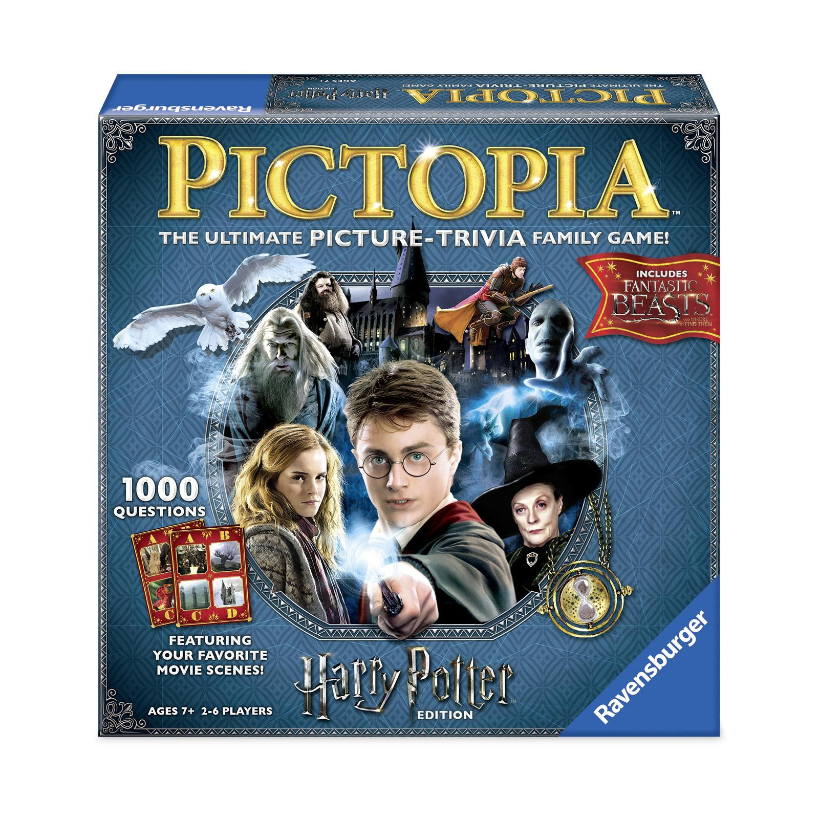 Pictopia Family Trivia Game Harry Potter Edition by Ravensburger