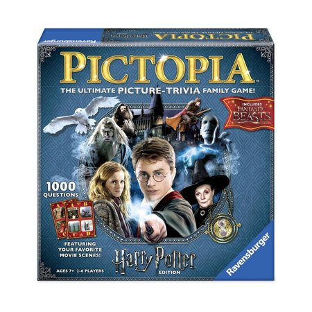 Pictopia Family Trivia Game - Harry Potter - Best Trivia Board Games