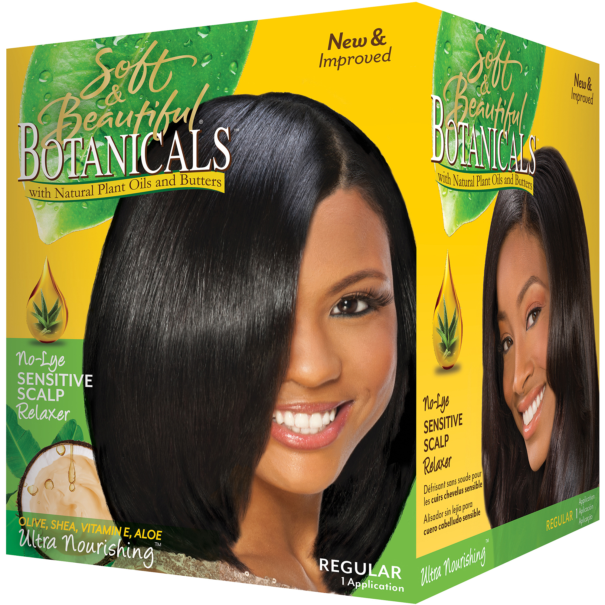 Soft & Beautiful Botanicals Regular No-Lye Sensitive Scalp Relaxer