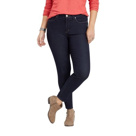 luxuriant in design super specials latest Plus Size Silver Jeans Co. Mazy High Rise Dark Rinse Skinny Jean