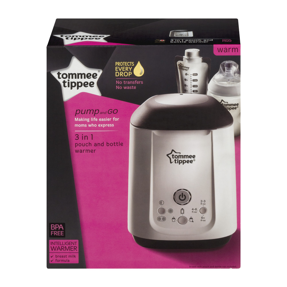 Tommee Tippee Pump and Go Pouch and Bottle Warmer by Tommee Tippee