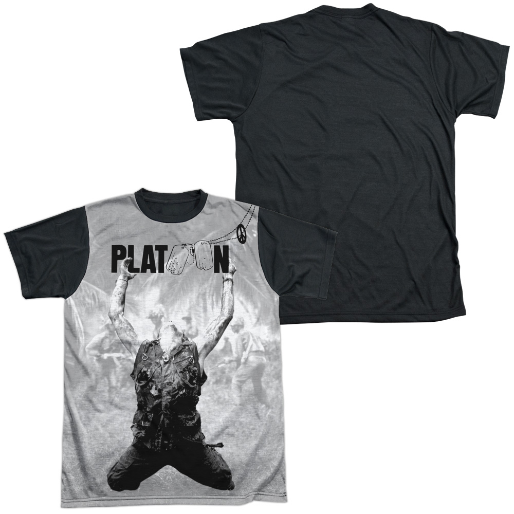 PLATOON ver.3 Movie Poster T shirt green all sizes