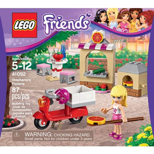 LEGO Friends Stephanie's Pizzeria - Walmart.com