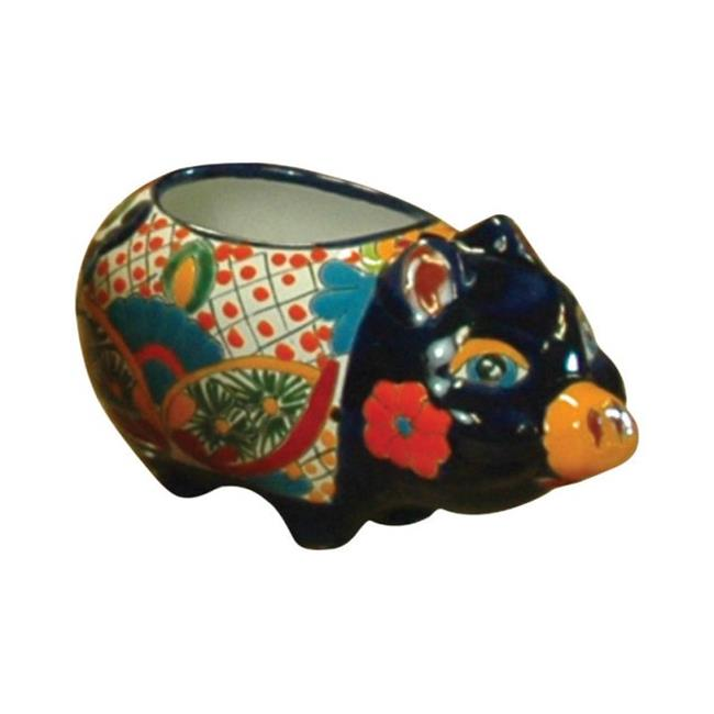 Avera Products APG075060 6 in. Talavera Pig Planter - Pac...