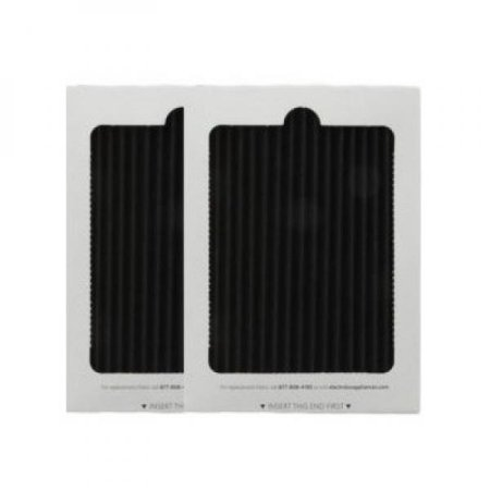 2 Replacement Frigidaire Pure Air Ultra Refrigerator Air Filters, Also Fits Electrolux, Compare to Part # EAFCBF PAULTRA 242061001 241754001 (2 Pack) (Frigidaire Furnace Parts)