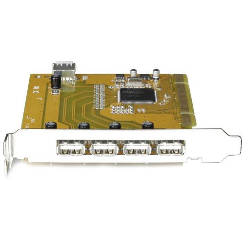 IOGEAR 5 Port USB 2.0 PCI Card, GIC251U