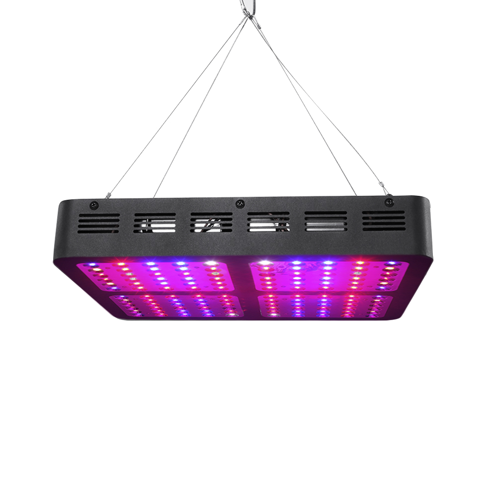 Zimtown LED Grow Light 1200W Indoor Plant Light Full Spectrum with UV for Greenhouse Veg and Flower 12-Band