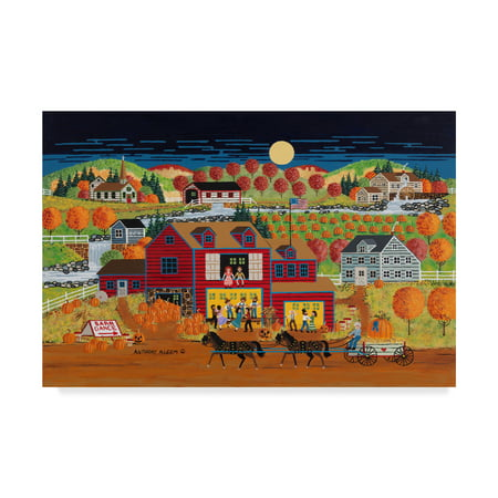 Trademark Fine Art 'The Barn Dance' Canvas Art by Anthony - Barn Dance Decor