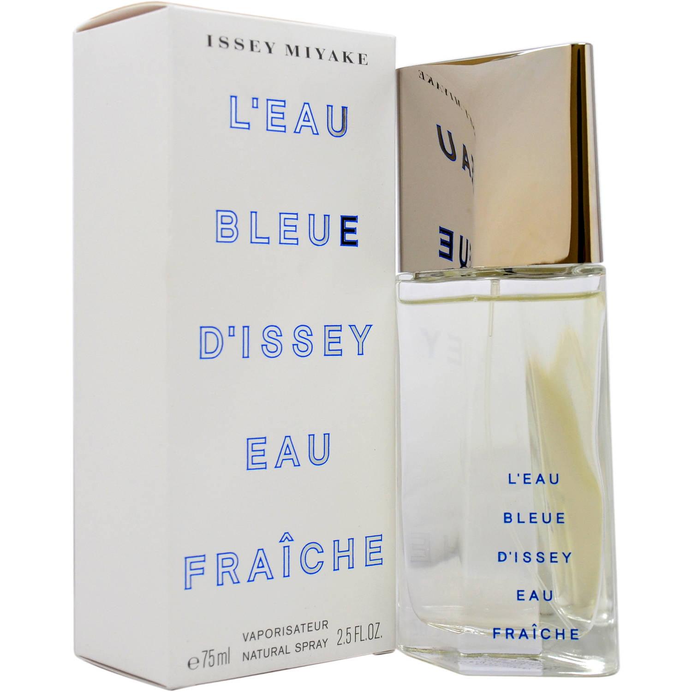 Issey Miyake L'eau Bleue D'issey Eau Fraiche for Men Eau de Toilette Natural Spray, 2.5 fl oz