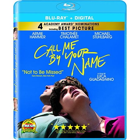 Call Me by Your Name (Blu-ray + Digital)
