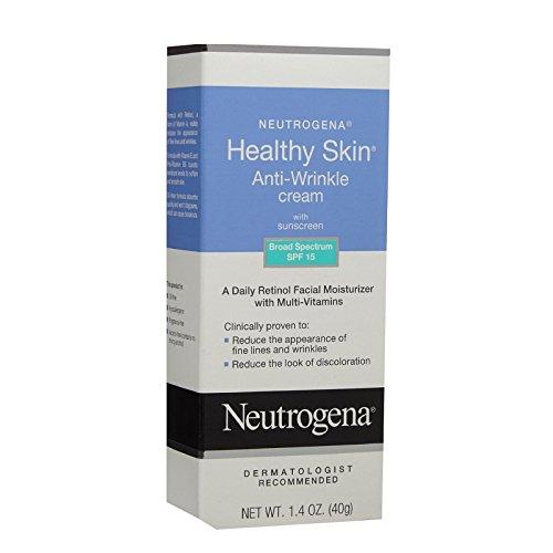 6 Pack - Neutrogena Healthy Skin SPF 15 Anti-Wrinkle Cream 1.4oz Each