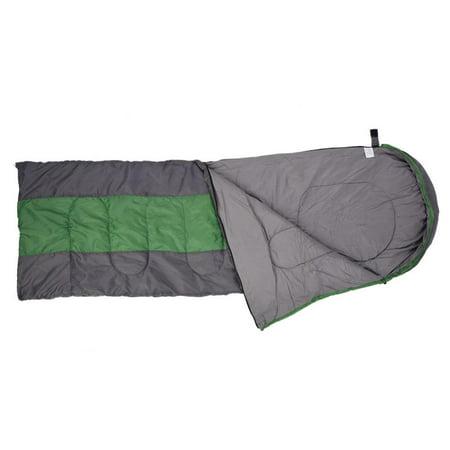 TOPINCN 2 Colors Portable Envelope Warm Comfortable Sleeping Bag for Outdoor Camping Hiking, Travel Sleeping Bag, Camping Sleeping Bag - image 4 of 8