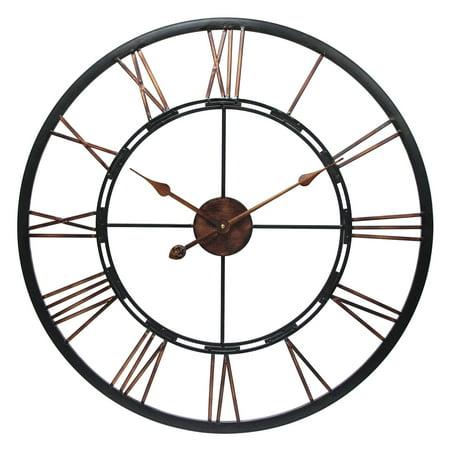 Infinity Instruments Metal Fusion Wall Clock](Womens Cloak)