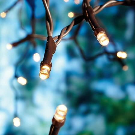Mainstays Solar LED Mini Lights, 50 Count - Walmart.com
